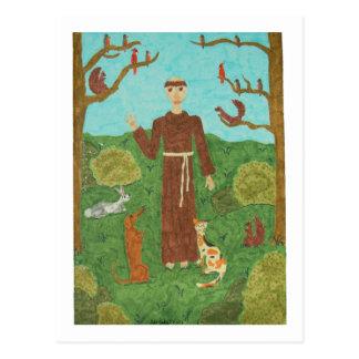 聖者アッシジのフランチェスコ ポストカード