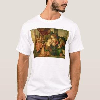 聖者キャサリンの神秘的な結婚 Tシャツ