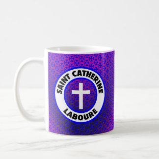 聖者キャサリンLaboure コーヒーマグカップ