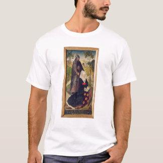 聖者ギヨームを持つGuillemette de Montagu Tシャツ