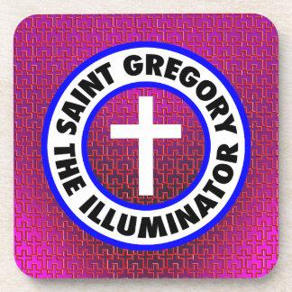 聖者グレゴリー照明器 コースター