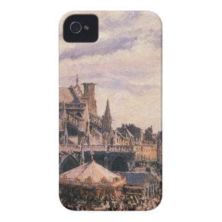 聖者ジェイクス、Dieppeの教会による市 Case-Mate iPhone 4 ケース
