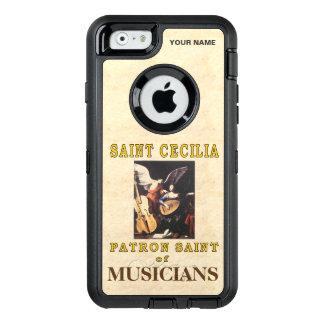 聖者セシリア(ミュージシャンの守護聖人) オッターボックスディフェンダーiPhoneケース