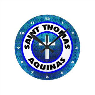 聖者トマス・アクィナス ラウンド壁時計