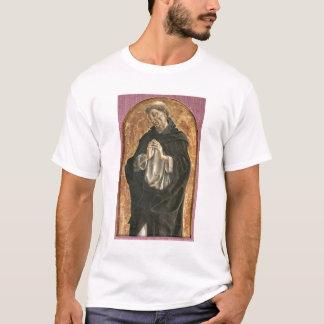 聖者ドミニク(パネルのテンペラ) Tシャツ