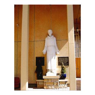 聖者フランシス島の彫像 レターヘッド