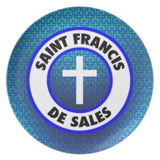 聖者フランシス島De Sales プレート