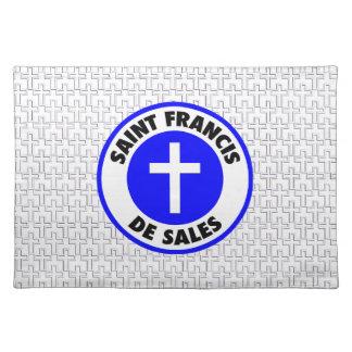 聖者フランシス島De Sales ランチョンマット