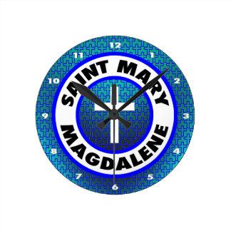 聖者マグダラのマリア ラウンド壁時計