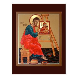 聖者ルーク福音伝道者の祈りの言葉カード ポストカード
