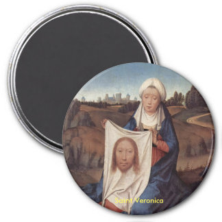 聖者ヴェロニカのポートレートの磁石 マグネット