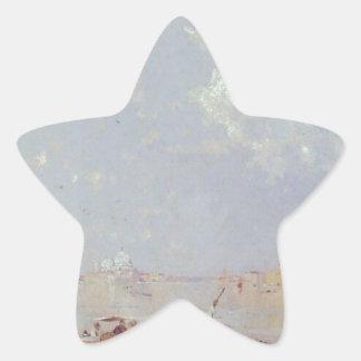 聖者印の正方形、フランツ著ベニスへの眺め 星シール
