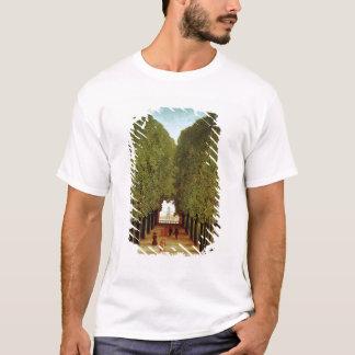 聖者雲1908年の公園の裏通り(油 Tシャツ