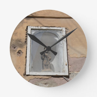 聖者 ラウンド壁時計