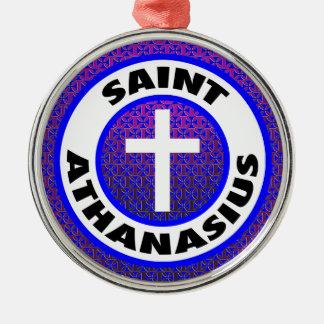 聖者Athanasius メタルオーナメント