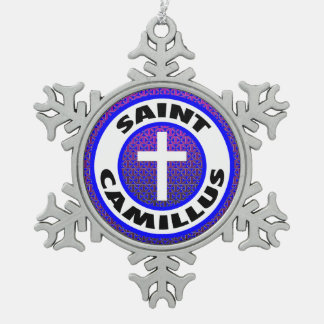 聖者Camillus スノーフレークピューターオーナメント
