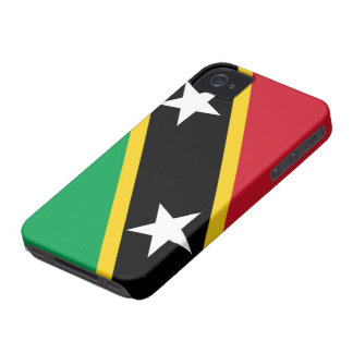 聖者KittsおよびネビスのiPhone 4/4Sのの旗場合 Case-Mate iPhone 4 ケース