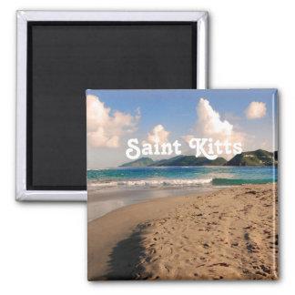 聖者Kittsは浜に引き上げます マグネット