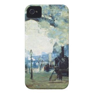 聖者Lazare Gareのクロード・モネ著ノルマンディーの列車 Case-Mate iPhone 4 ケース