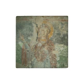 聖者Paraskeviの個々の大理石の石造りの磁石 ストーンマグネット