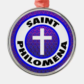 聖者Philomena メタルオーナメント