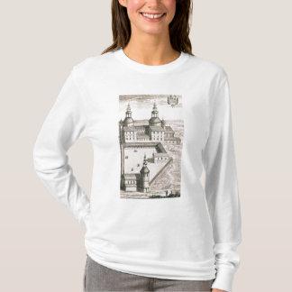 聖者Riquierのベネディクト会の大修道院の計画 Tシャツ