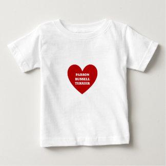 聖職者のラッセルテリア ベビーTシャツ