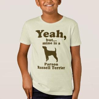 聖職者のラッセルテリア Tシャツ