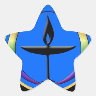 聖餐杯のライター 星シール