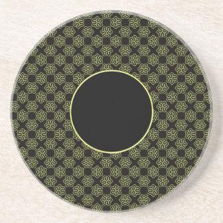聡明な細菌パターン コースター