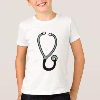 聴診器 Tシャツ