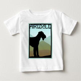 職人Airedaleテリア ベビーTシャツ