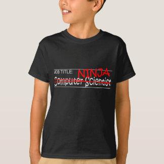 職名の忍者- Comp Sci Tシャツ