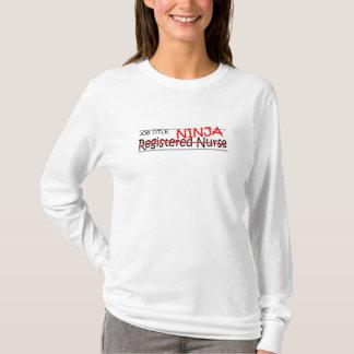 職名の忍者- RN Tシャツ