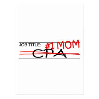 職名#1のお母さんCPA ポストカード