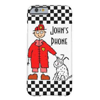 職業消防士のデザインIの電話6箱 BARELY THERE iPhone 6 ケース