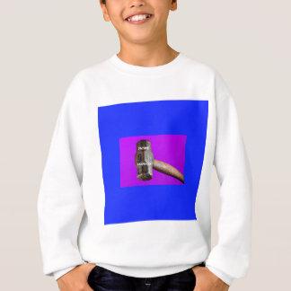 職業: 未来の大工の大ハンマーのデザイン スウェットシャツ