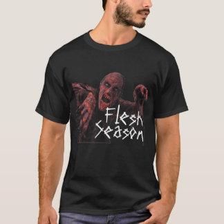 肉の季節か逃亡者 Tシャツ