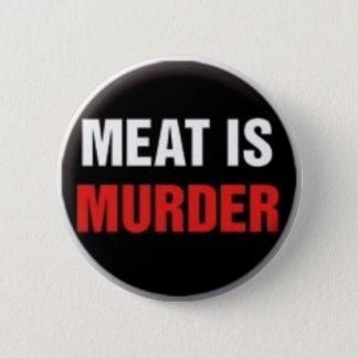 肉は殺害です 缶バッジ