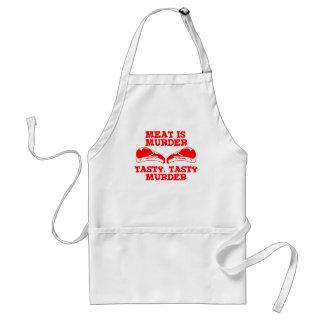肉は殺害です。 風味がよく、風味がよい殺害 スタンダードエプロン