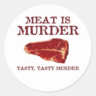 肉は風味がよい殺害です ラウンドシール