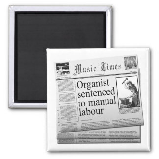 肉体労働に刑を宣告されるオルガン奏者 マグネット