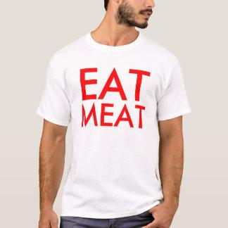 肉保存の野菜を食べて下さい Tシャツ
