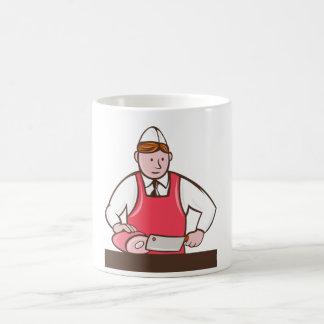 肉屋のマグ コーヒーマグカップ