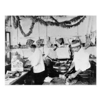 肉屋1895年 ポストカード