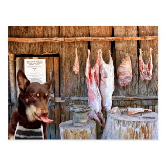 肉屋 ポストカード