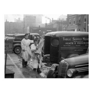 肉屋Boys 1938年 ポストカード