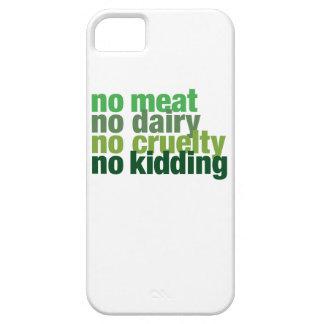 肉無し、酪農場無し、残酷無し、からかうこと: 場合 iPhone SE/5/5s ケース