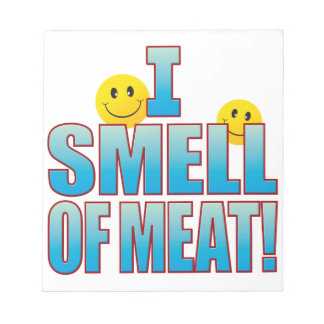 肉生命Bの臭い ノートパッド