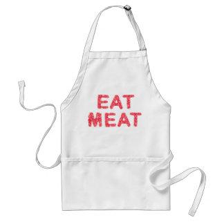 肉肉の文字を食べて下さい スタンダードエプロン